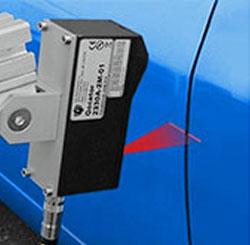 自動車ドアのギャップ計測・同一平面性の検査