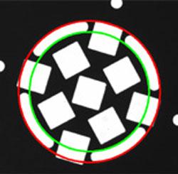 複雑形状の円フィッティング