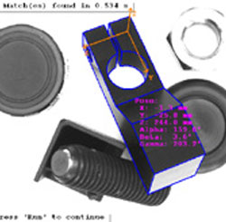 3次元パターンマッチングによる3次元位置姿勢の取得